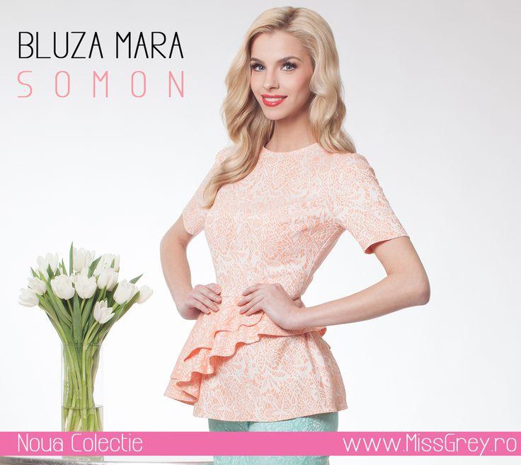 Rise and shine, beautiful! Wear the elegant salmon blouse by Miss Grey, and you'll be the cutest: https://missgrey.ro/ro/produse-noi/bluza-somon-mara/294?utm_campaign=noua_colectie_mar1&utm_medium=bluzamara_somon&utm_source=pinterest_produs