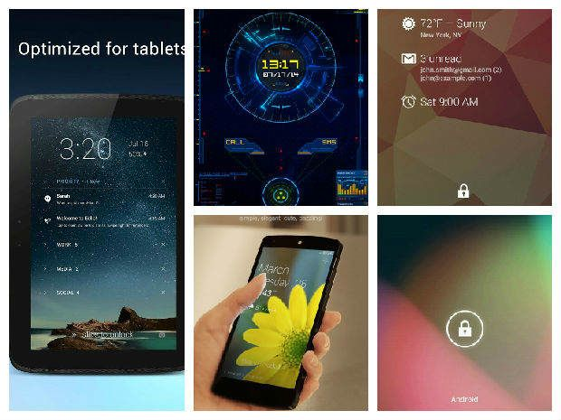 Best Android Lock Screen Apps | Drippler - Apps, Games, News, Updates & Accessories