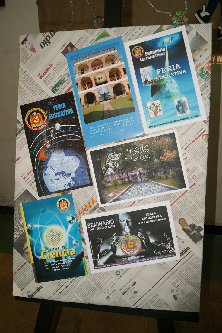 Exposición de trabajos Informática 2012