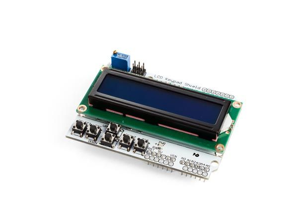 Lcd & keypad shield for arduino® - lcd1602 - Development Boards - Kits & Development Tools - VellemanStore