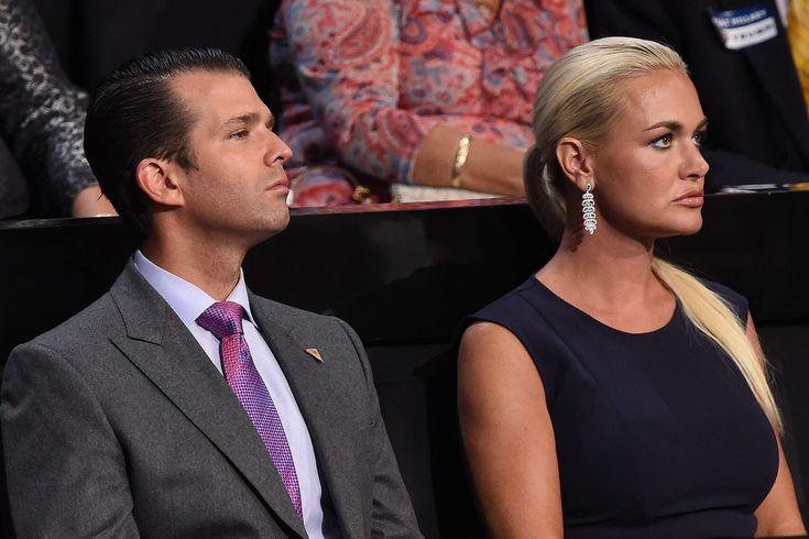 Vanessa Trump Donald Trump Jr.s Wife Files for Divorce