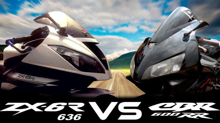 ZX6R VS CBR600 Drag Race /Xmotos