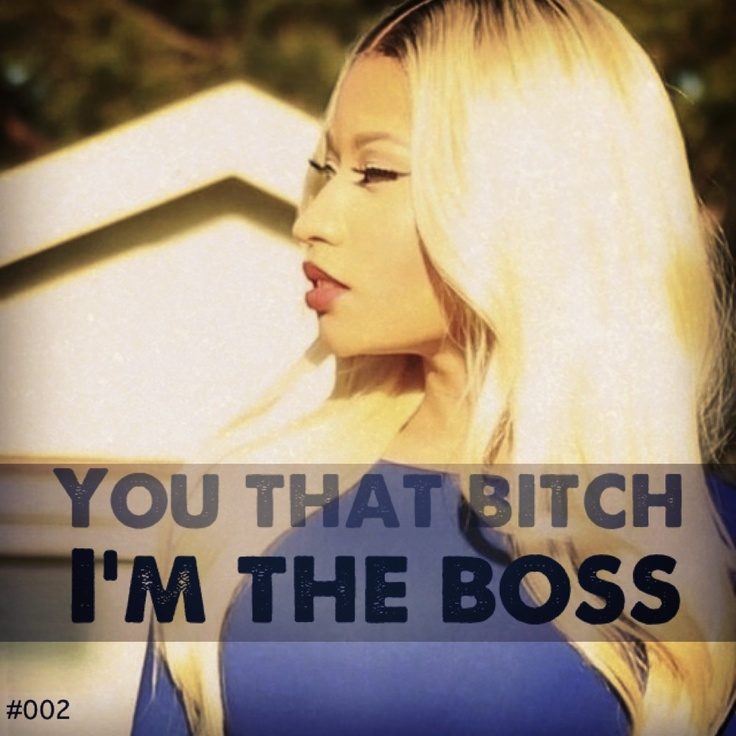 I made - Montage Pic and Quote - Nicki Minaj