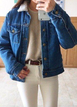 Kaufe meinen Artikel bei #Kleiderkreisel http://www.kleiderkreisel.de/damenmode/mantel-and-jacken-sonstiges/141279781-sherpa-jeans-jacke