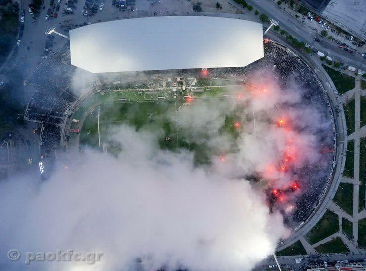 Εικόνες από το ΠΑΟΚ-Ολυμπιακός - PAOK F.C.