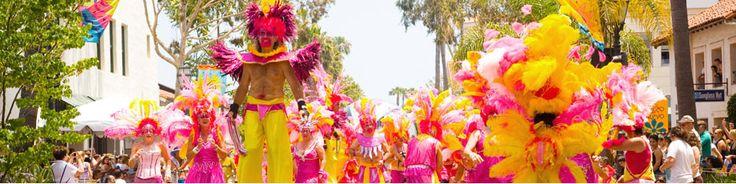 Santa Barbara Summer Solstice Celebration & Parade!  Festival Date: June 22nd, 23rd & 24th Parade Date: June 23rd, 2012 Noon