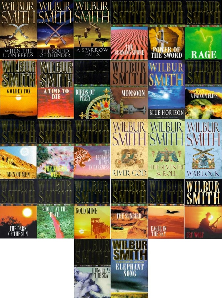 Everything by the legend that is Wilbur Smith. I lived in Africa for ten years. Zambia, Zimbabwe and Kenya. This man IS Africa .