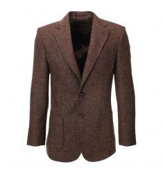 Mens Herringbone Wool Blazer Jacket with Elbow Patches (BJ902) #BLACKFRIDAY #CYBERMONDAY #MENS CLOTHING #MENS JACKET #MENS BLAZER #MENS FASHION #FASHION FOR MEN