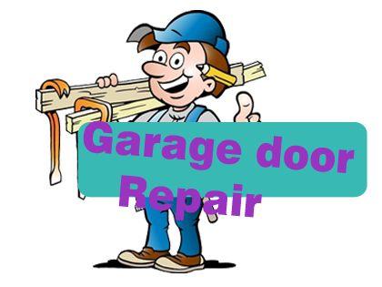 Garage Door Repair Clipart