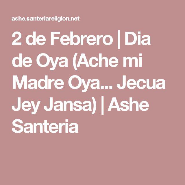 2 de Febrero | Dia de Oya (Ache mi Madre Oya... Jecua Jey Jansa) | Ashe Santeria