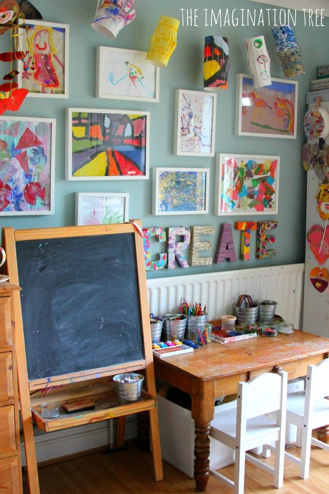 How to create a child's creative space