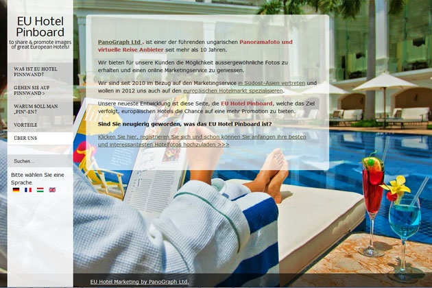 European Hotel Promotions – Full Screen Images for Hotel Website