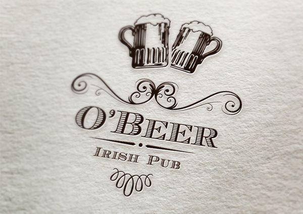 O' Beer Irish Pub by Greab Bogdan, via Behance