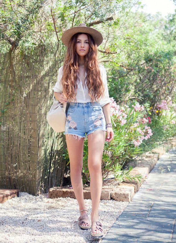 Street Style Denim Shorts