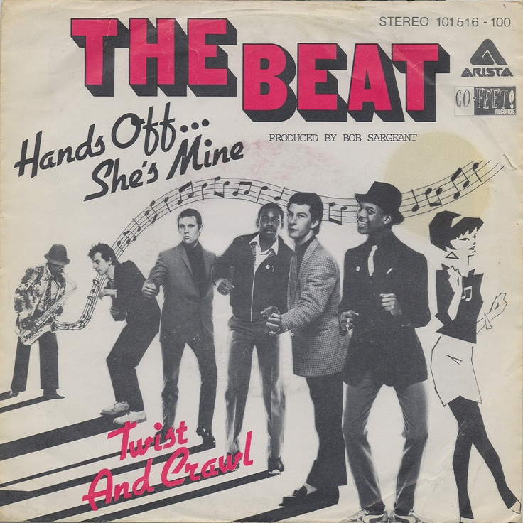 "The Beat - Hands Off... She's Mine [1980, Arista 101 516│Belgium] - 7""/45 vinyl record [SKA]"