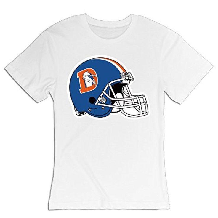 NFL Logos Denver Broncos T Shirts For Women Soft Basic O-neck SizeName - Brought to you by Avarsha.com