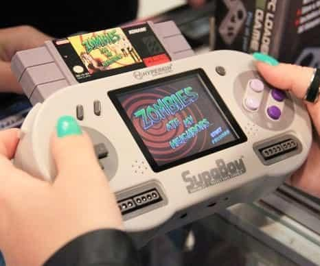 Pocket Super Nintendo Console - Wonnered