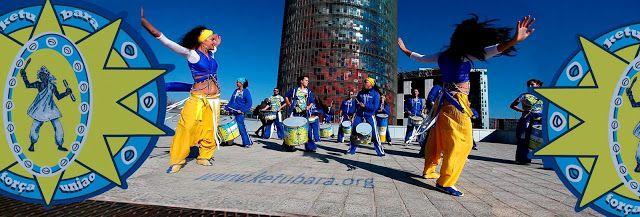 KETUBARA Batucada Barcelona Bailarinas y Samba: Ketubara Batucada en el desfile del Pride Barcelon...