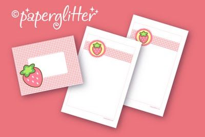 printable note paper and envelope - excellent pattern to use for more envelopes....good size for mailing.