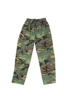 Kids Woodland Camo Lounging Pants ! Buy Now at gorillasurplus.com