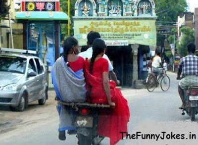 Indian Double Bike Riding  bharat ka jugaad