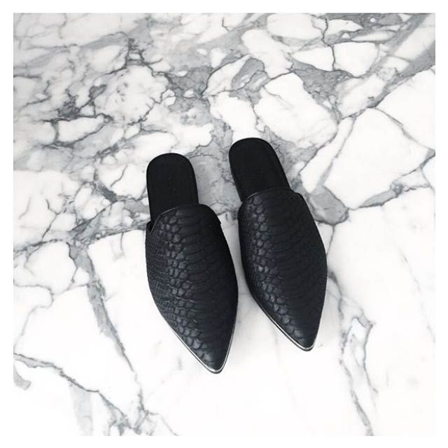 Ivy Slip On Mules - Available in store and online! http://www.decjuba.com.au/