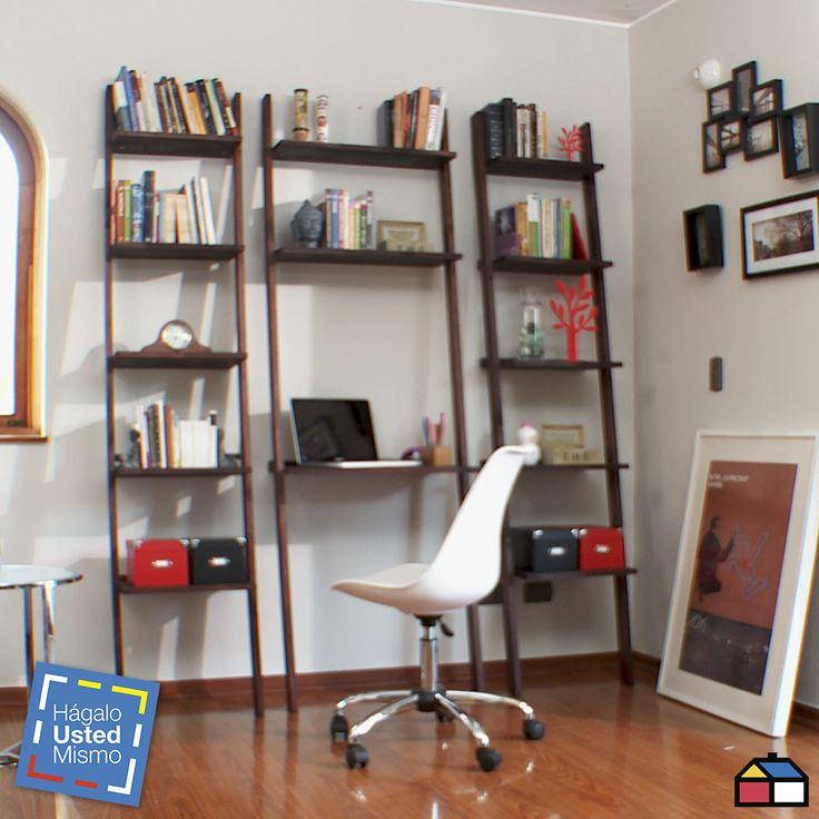 ¿Cómo hacer una repisa escritorio modular? #HagaloUstedMismo