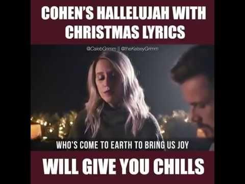COHEN'S HALLELUJAH WITH CHRISTMAS LYRICS   Christmas lyrics, Favorite christmas songs, Christmas ...