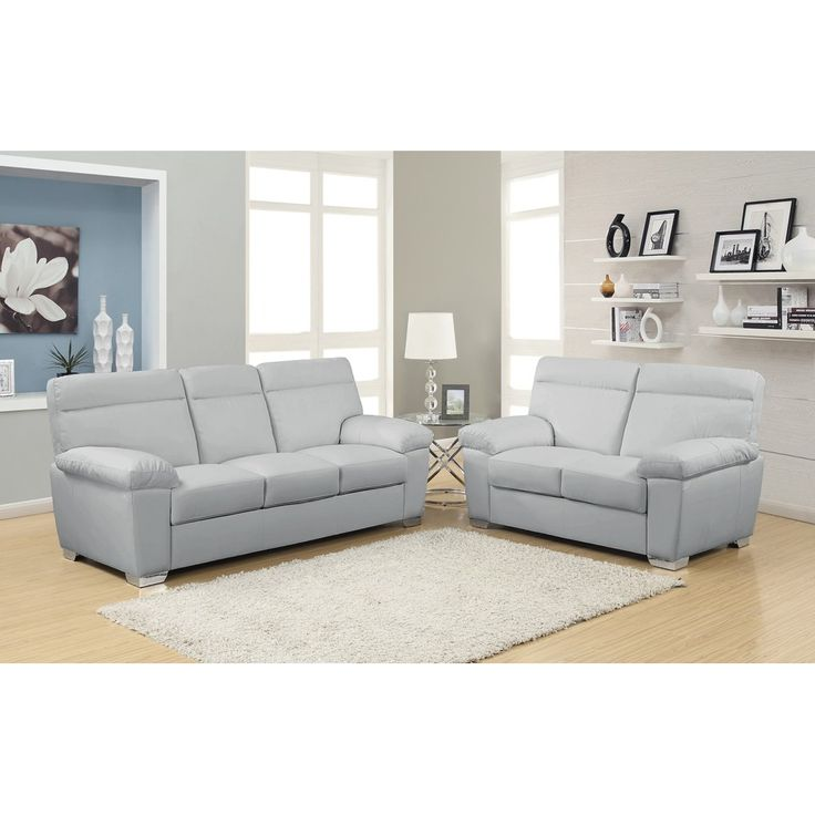 Light Grey Leather Sofa Check More At Http://casahoma/light