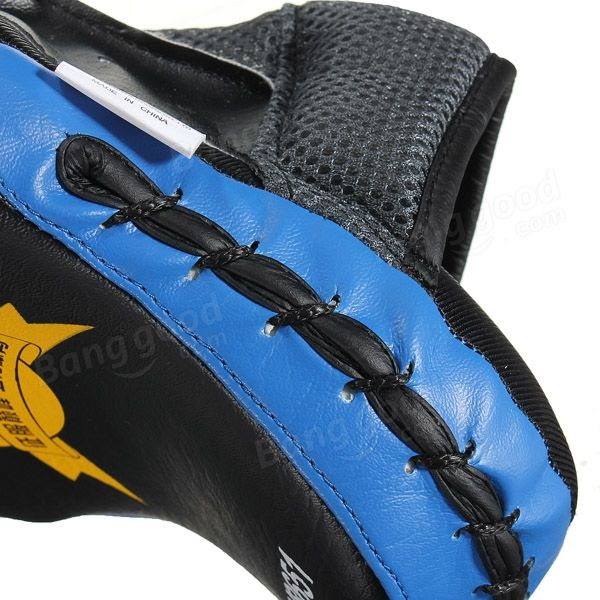 Boxing Fighting Taekwondo Training Mitts High Stripping PU Gloves - US$8.99
