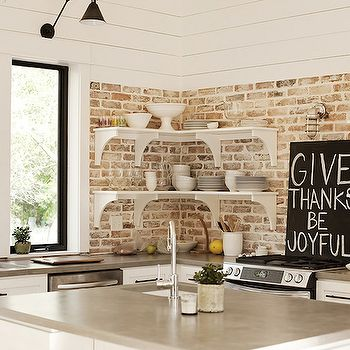 1000 images about brick on pinterest cardiff grouting for Brick wallpaper ideas for kitchen