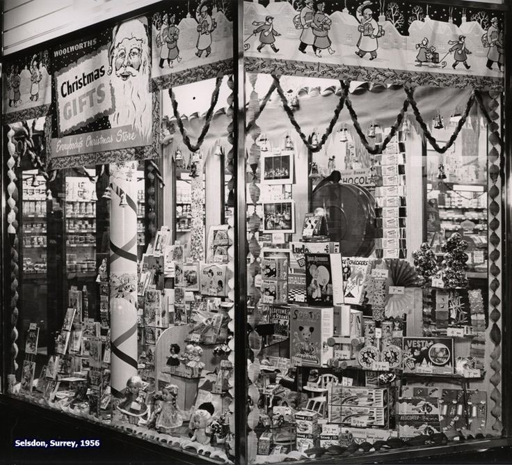 Woolworth Christmas Display, if only I could go back in time and shop!