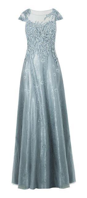 vestido de festa longo bordado                                                                                                                                                      Mais