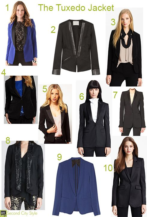 Trend To Buy Right Now & Wear Into Spring: The Tuxedo Jacket