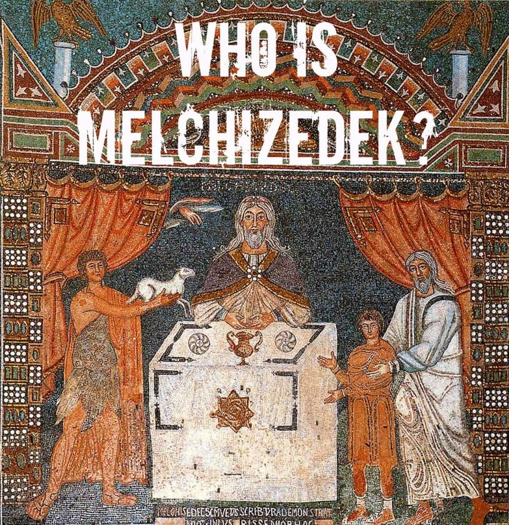 Melchizedek was a man, appointed by God to be High Priest before the priesthood lineage of Aaron was established. Melchizedek is also a foreshadow of Jesus Christ in that Jesus could not be appointed our High Priest without first having become a man (incarnate).