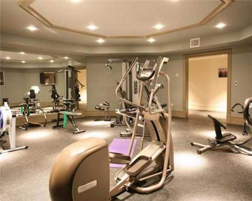 Best luxury home gyms images on pinterest