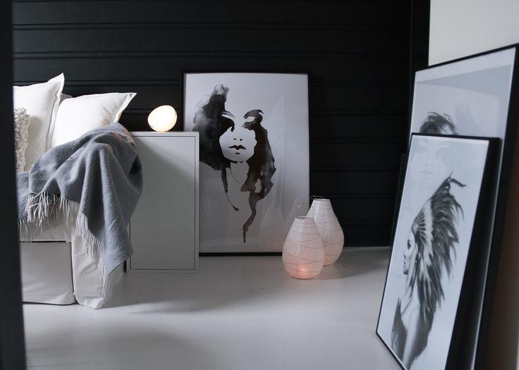 IG: @hvitelinjer. Blog: www.hvitelinjer.no     Philips Hue Go - hvitelinjer    #interior #inspiration #scandinavian #modern #design #decoration #philips #philipshuego #huego #lovelylady #paradiscoproductions #hviit