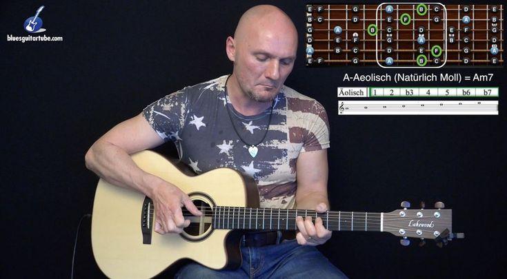 """Das jüngste Blog-Video """"Der Aeolisch Mode im Blues"""" ist da. Viele Gitarristen - auch ich während vielen Jahren - beschränken sich auf die Pentatonik bei der Improvisation. Wenn du auch dazu neigst ist dieses Video für dich, integriere diesen Mode in dein Spiel und du hast ganz tolle neue Klangfarben zur Hand - have fun!"""