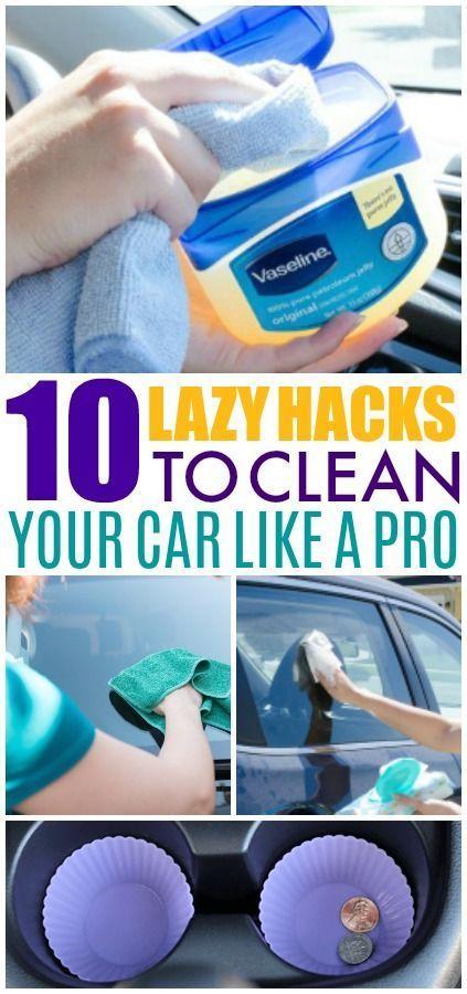 10 Reinigung Hacks, die tatsächlich Ihr Auto Unordnung frei halten – Hack