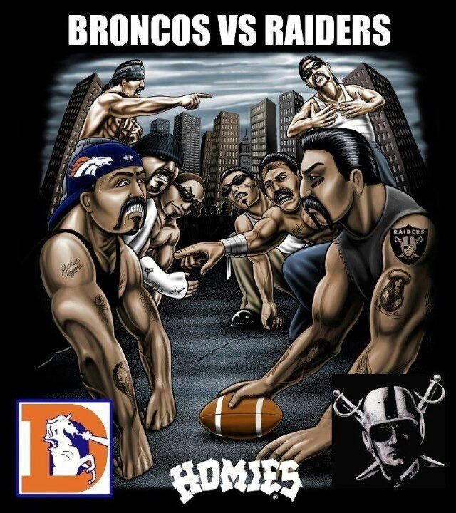 Broncos  Vs  Raiders   Dinner Ideas