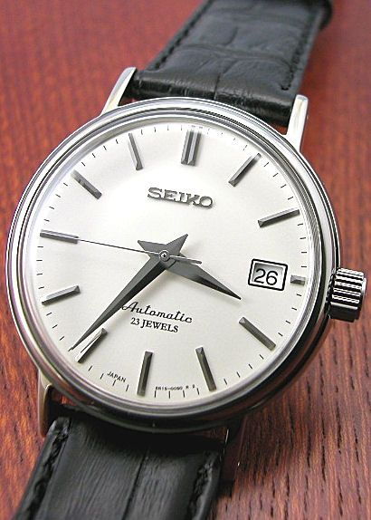 Rakuten: SEIKO SARB031 self-winding, hacking 6R15 movement