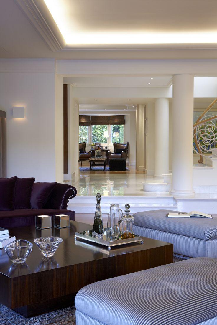Sissy Raptopoulou-Interior designer single house in Varkiza-Greece living room