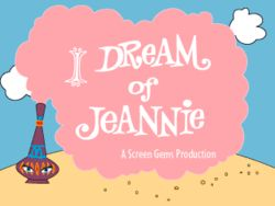 I Dream of Jeannie, starring Barbara Eden, Larry Hagman, Bill Daily and Hayden Rorke, 1965-1970, NBC.