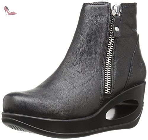 FLY LONDON Yat mousse/cupido, Farbe:schwarz;Größe:38 - Chaussures fly london (*Partner-Link)