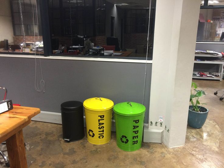 Paper or Plastic @ the LAB #officespace