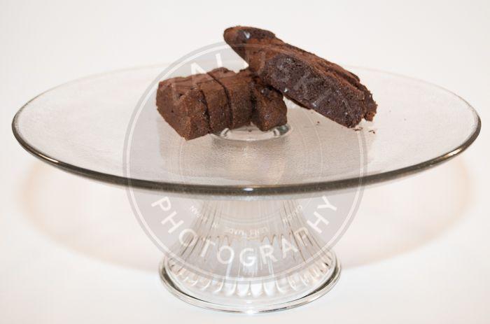 Gluten free double chocolate mocha biscotti
