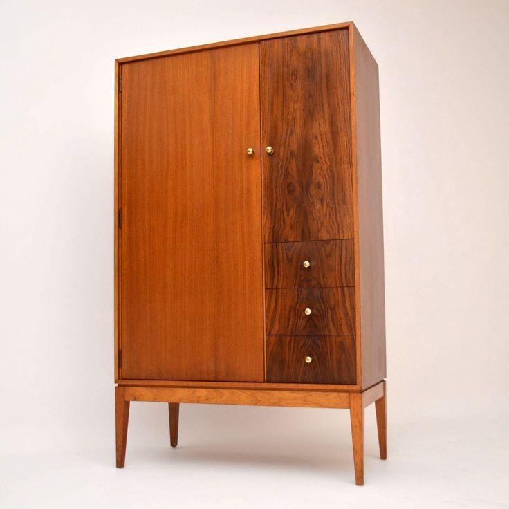Rosewood wardrobe cupboard for sale London Danish vintage retro | retrospectiveinteriors.com