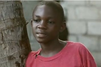 From Haiti. It's a new TV commercial for Water Is Life.