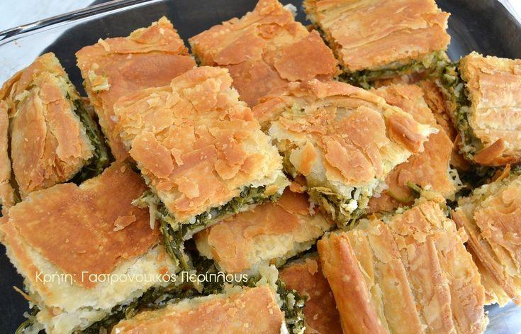Ένας συνδυασμός που δίνει τέλεια αποτελέσματα!   Έχω ξαναγράψει πόσο εκτιμώ τις «πανωμερίτικες» πίτες φούρνου. Αν στις πίτες τηγανιού είμαστε ειδικές στην Κρήτη, στις πίτες φούρνο…