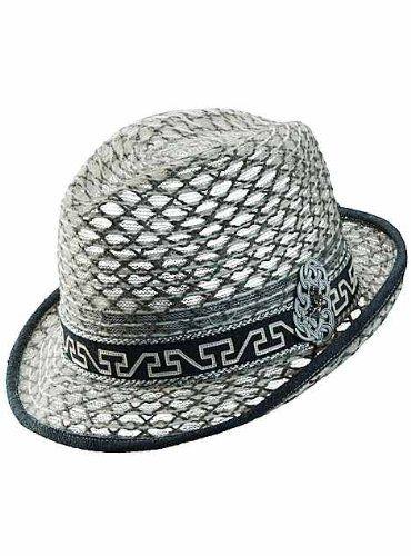 Carlos Santana Fedora Collective SAN132 Grey  #Carlos_Santana_Hats #Apparel